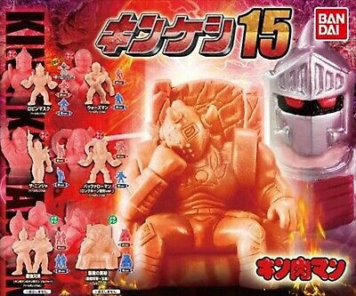 Kinnikuman Gashapon Kinkeshi 17 complete 19P set Including 1 full color ver.