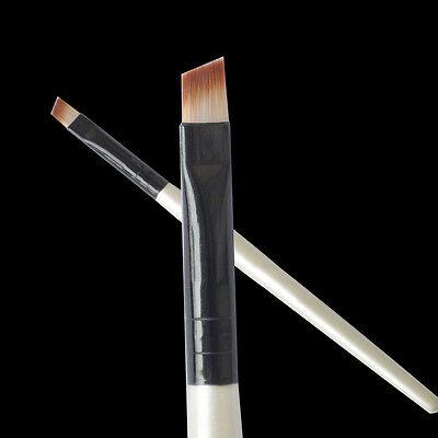Professional Elite Angled Eyebrow Brush Eye Liner Brow Makeup Tool 1pc A++