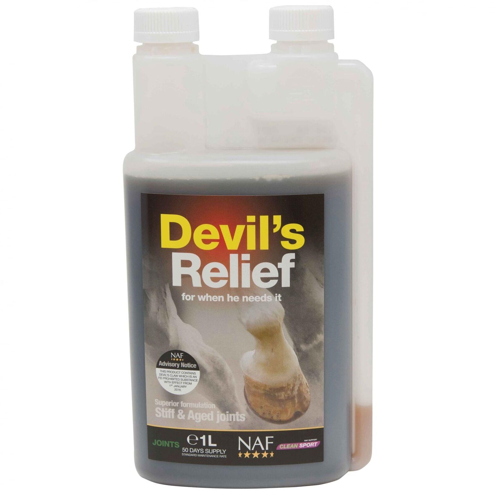NAF Devils Relief - Horse Supplement