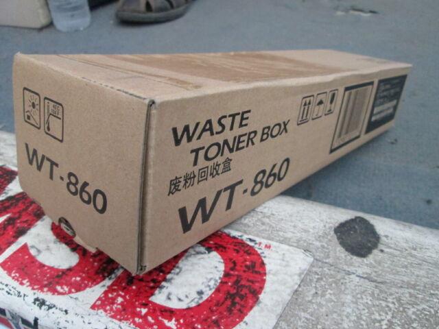 Genuine Kyocera WT-860 Waste Toner Bottle TASKAlfa 3050ci 3500i 4500i 5500i