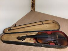 Vintage Stainer Violin With Wooden Case And Bow