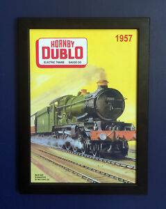 Hornby Dublo 1938 GWR/'s King George II A3 Size Poster Advert Shop Sign Leaflet