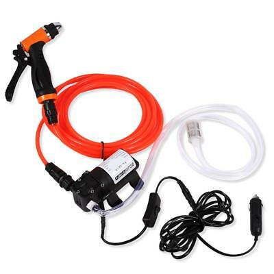 130PSI 12V Self-priming Quick Car Cleaning Water Pump Washer Kit