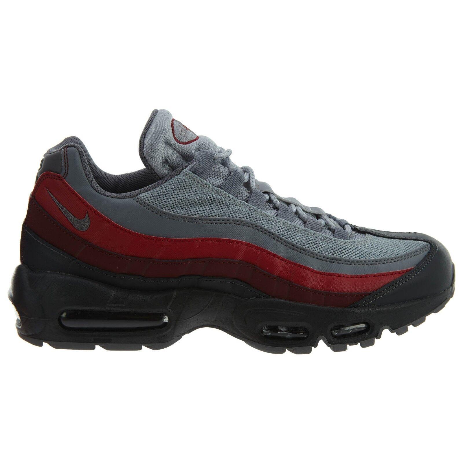 Nike Air Max 95 esencial rojo Hombre 749766-025 Cool gris rojo esencial zapatos para correr cómodo especial de tiempo limitado 3a371a