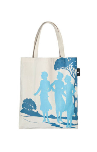Nancy Drew Out Of Print Book Cover Canvas Tote Bag Novelty Mystery Fashion