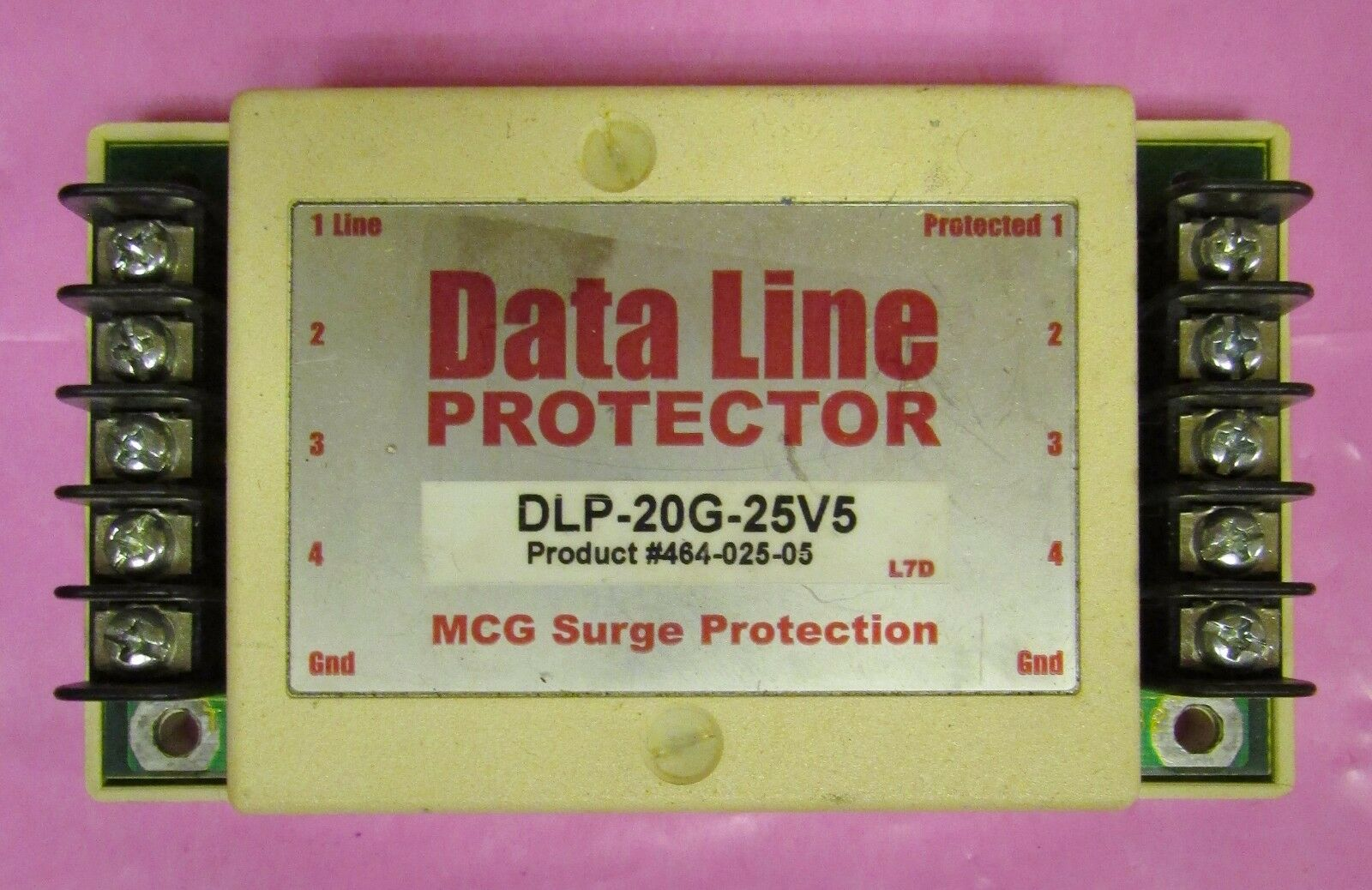 MCG SURGE PredECTION DLP 20G 25V5 Data Line Predector 464 025 05