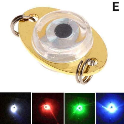LED Deep Drop Sea Underwater Fishing Light Squid Strobe Flashing Lure Lamp F6U4
