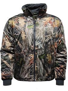 Kanati Camo Mens Base Camouflage Jacket Hunting Fishing Coat