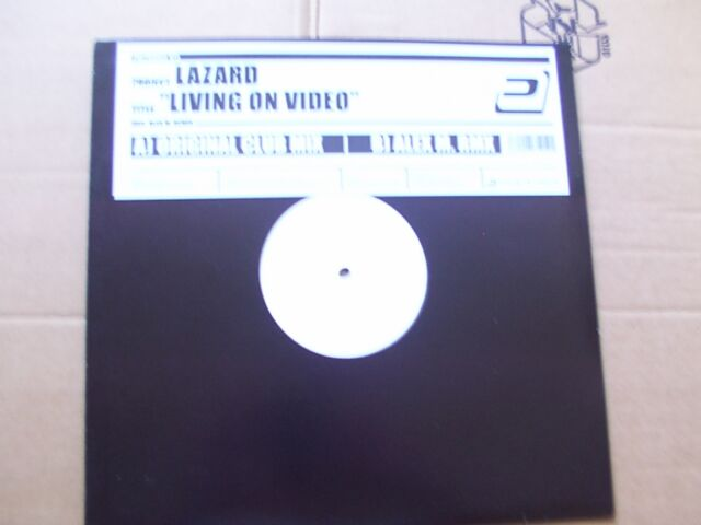 LAZARD,LIVING ON VIDEO maxi m-/vg+ pulsive media Germany 2006