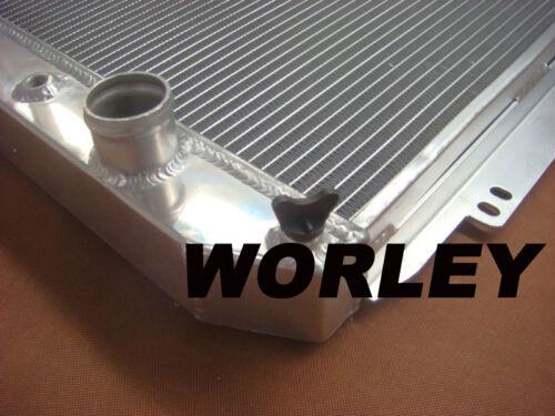 3 core aluminum radiator for Chevy Chevelle /& El Camino 1964 1965