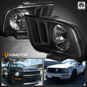 Image Is Loading 2005 2009 Ford Mustang V6 V8 Black Replacement