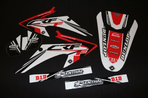 HONDA CRF 150F & 230F 20082014 PTS THREE MX GRAPHICS KIT STICKER KIT STICKERS