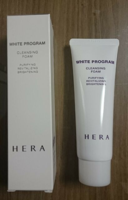 [Hera] White Program Cleansing Foam 50ml + Free Gift
