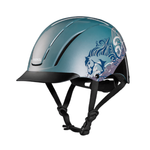 Troxel Riding Helmet Spirit Sky Dreamscape Horse Safety Low Profile Medium