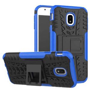 Carcasa-hibrida-2-piezas-exterior-bolsa-azul-Funda-para-Samsung-Galaxy-J7-j730f