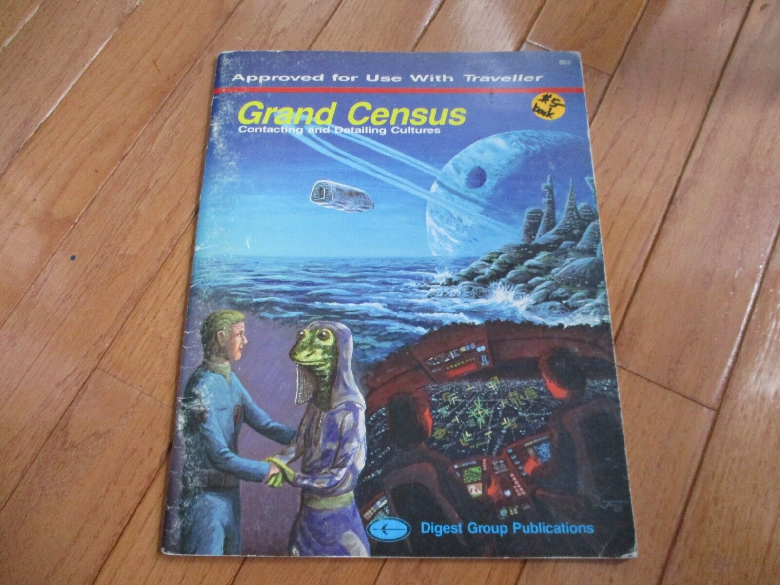 Traveller RPG Grand Census Contacting and Detailing Cultures Digest Group