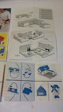 Lego 50er u 60er Jahre Prospekte Faltblätter 6 Stück sehr gut