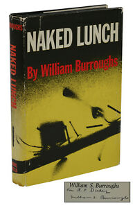 William Burroughs Naked Lunch Grove Press In Dust Jacket