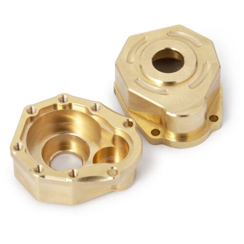 Heavy Brass Servo Mount Wheel Knuckle Hex Weight Hub For 1//10 RC Traxxas TRX-4