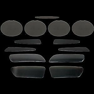 13 PIECE BLACKOUTS CORVETTE C6 COMPLETE BLACKOUT KIT