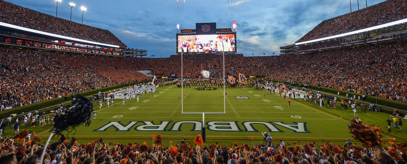Mississippi State Bulldogs at Auburn Tigers Football