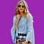 thumbnail 1 - ZARA-Blue-Top-Striped-Hip-Length-Shirt-Olivia-Palermo-Ladies-XS-S-M-L-7767-041