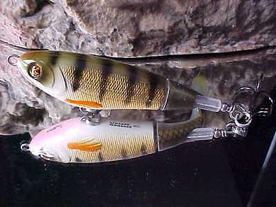 "River2Sea 4 3//8/"" Larry Dahlberg Series WHOPPER PLOPPER WPL110-18 for Bass//Pike"
