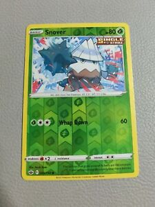 Snover Reverse Holo | NM | SWSH Chilling Reign 009/198 | Pokemon