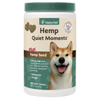 NaturVet Hemp Quiet Moments Plus Calming Care 180 Soft Chews Exp 2024
