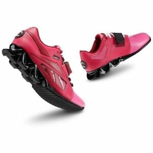 7d69d194a187 New Reebok Women s Crossfit U-form Lifter Shoe Red Pink and Black