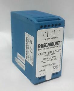 Rosemount 333U SIGNAL CONVERTER TRI LOOP MODULE HART TO ANALOG