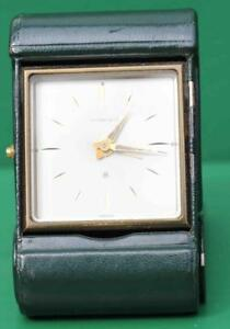 TIFFANY-amp-CO-56-HOUR-TRAVELLING-ALARM-CLOCK-DARK-GREEN