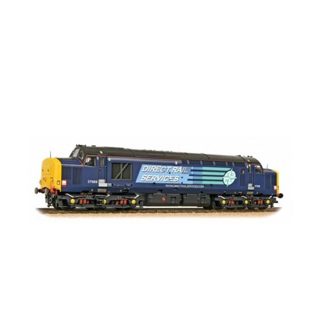 Bachmann 32-392 Class 37/5 37688 Kingmoor TMD DRS Compass OO Gauge