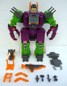 Transformers Scorponok Vintage G1 Figurine Articulée Proviseur City Complet 1987