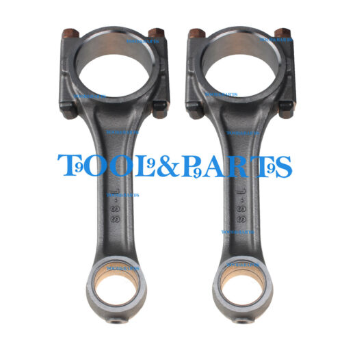 2 Pieces Connecting Rods 15221-22010 for Kubota Z750 Engine