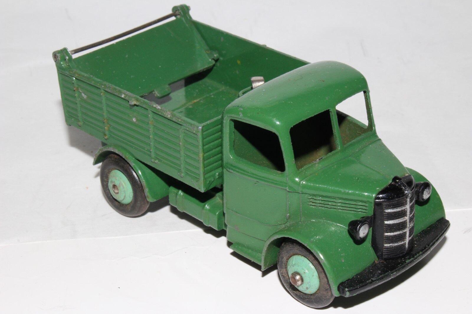 594ms Dinky 25m Bedford Volquete, verde con Luz verde Cubos, Original