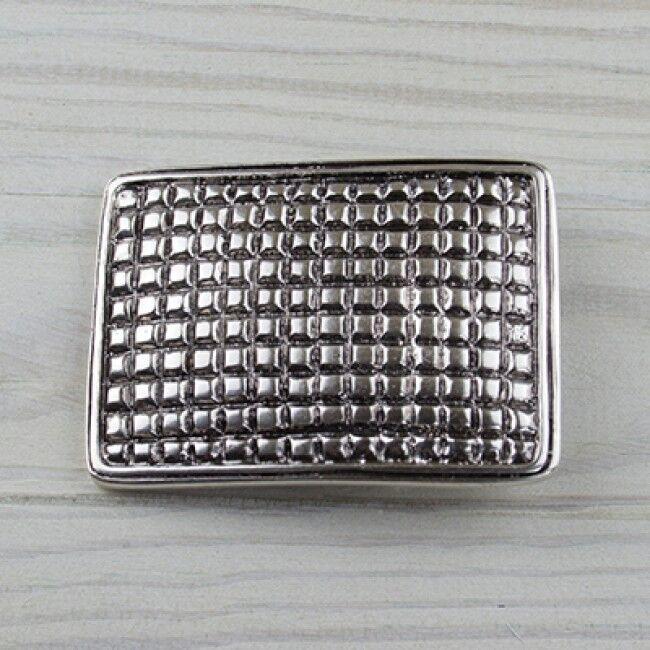 Quadrat Käsekästchen Gürtelschnalle Silber Buckle Wechselschließe GS5479