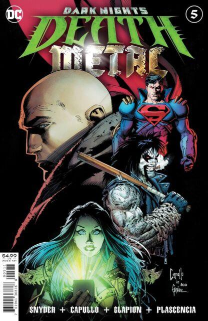 Dark Nights Death Metal #5 (of 6) Comic Book 2020 - DC