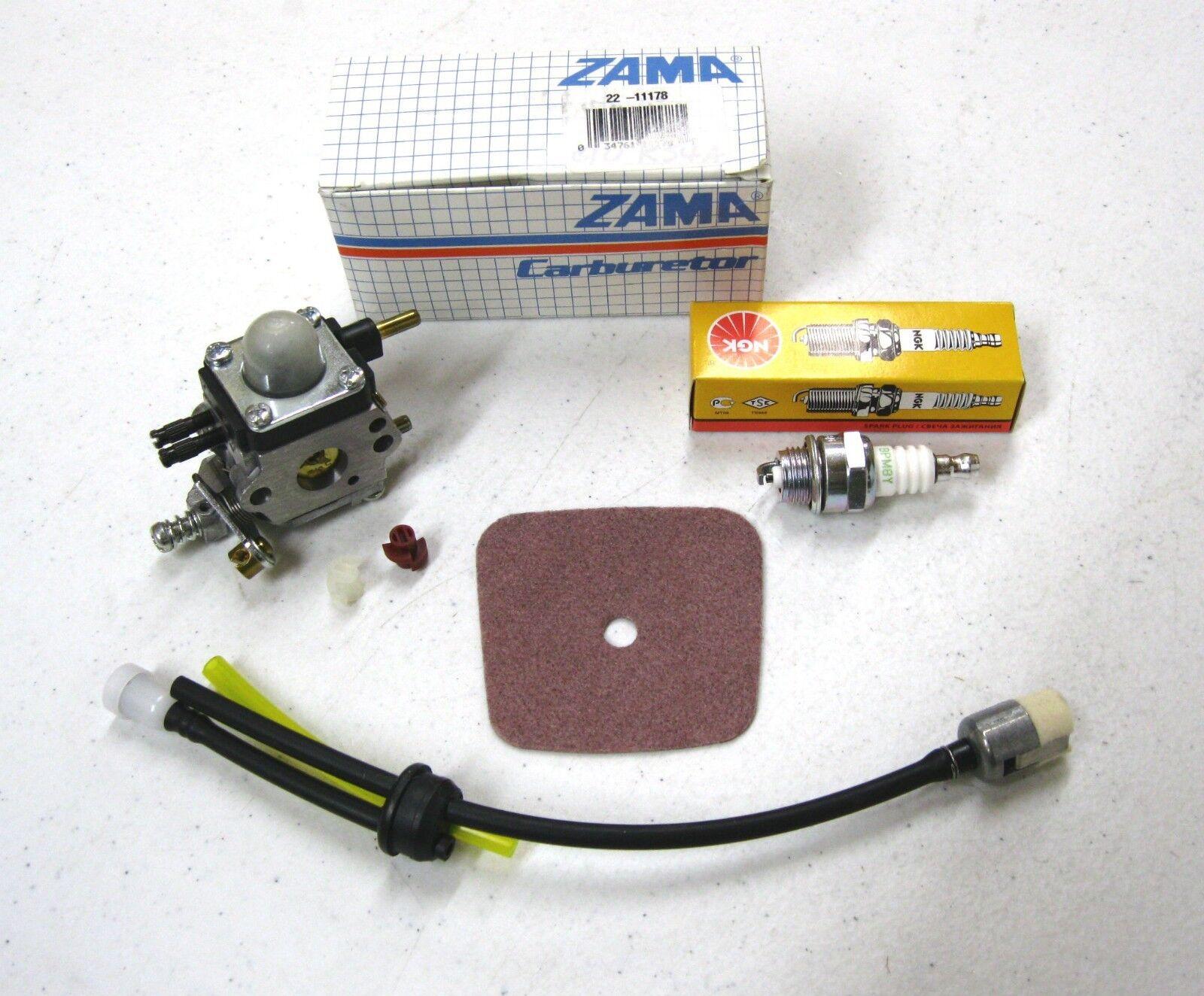 Nuevo Kit de servicio de fabricante de equipos originales con Zama Cocheburador para TC2100 timón cultivador