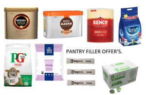Bulid Your Own Catering Pack and Save as you buy.Nescafe,Kenco,Tetley,PG,Milk