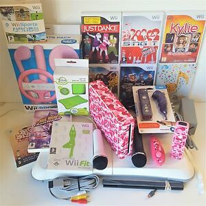 Wii-Console-Customised-all-Singing-Dancing-Gift-bundles-for-Girls-Birthday-xmas