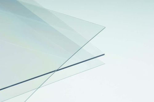 """PETG Clear Plastic Sheet 0.080/"""" X 24/"""" X 24/"""" Thermoforming"""