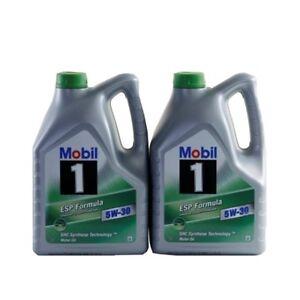 Mobil-1-ESP-FORMULA-5W-30-2x5-10-Liter-VW-Audi-Seat-Skoda-504-00-507-00-Longlife