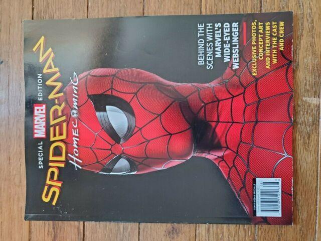 Topix Media Specials Marvel Special Edition Spider Man Homecoming Ebay