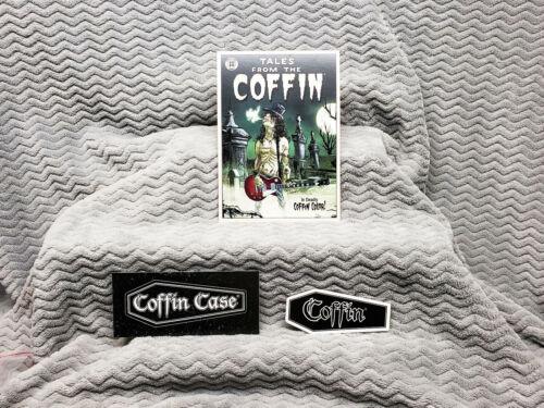 Coffin Cases 2 Sticker Promo Card Set.....