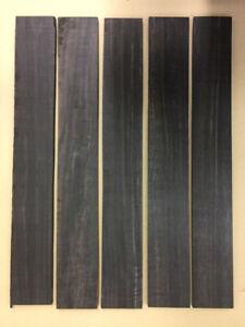 A-Ebenholz-Griffbrett-Ebony-Fingerboards-GETROCKNET-DRY-Tonholz-Tonewood