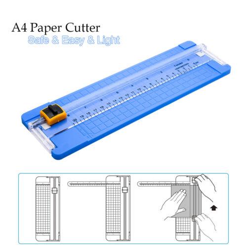 A4 Papierschneider PapierschneidemaschineFotoschneiderKunststoff Edelstahl