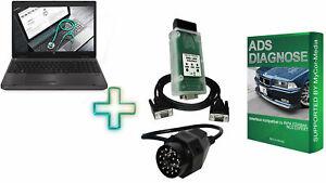 Ads Diagnostic Interface For BMW E39 E38 E36 E34 E32 E31 E30 E46 E53 With Laptop