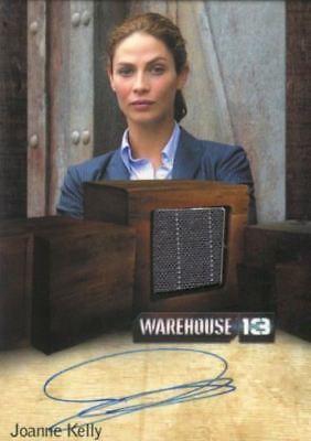 WAREHOUSE 13 SEASON 4  JOANNE KELLY AUTOGRAPH