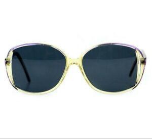 NOS 70s 80s Vintage butterfly sunglasses oversized womens DS OG OS France